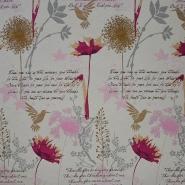Deko žakard, romantičen, 15209