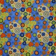 Pamuk, popelin, gumbi, 15221-3004
