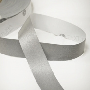 Reflective tape, 30mm, 15287-1, silver