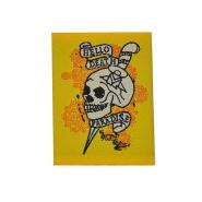 Patch, skull, 15357