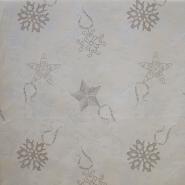 Deko žakard, zvezdice, 15367-1