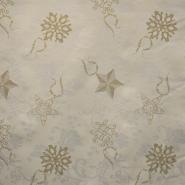 Deko žakard, zvezdice, 15367-2