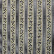 Deko, Jacquard, floral, Rosen, 15369-1