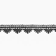 Spitze, Abschluss, 25 mm, 00510-999, schwarz