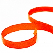 Velcro tape, 20mm, 00394-09, fluo orange