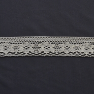 Lace, cotton, 30mm, natur