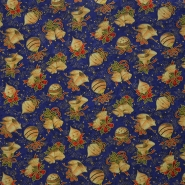 Cotton, poplin, Christmas, 13645-02