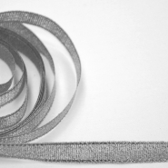 Decorative trim,  8mm, 00278-2, silver