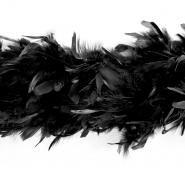 Feathers, boa, 13050-03, black