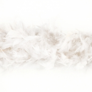 Feathers, boa, 13050-04, white