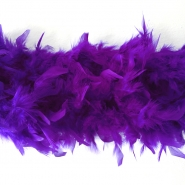Feathers, boa, 13050-15, purple