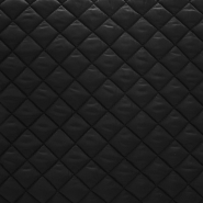 Quilted lining, diamond, 15406-3, black