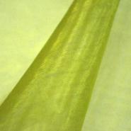 Organza, poliester, 10_13903-113, zelena