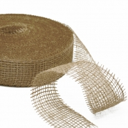 Jute, Band, 50 mm, 15427, natur