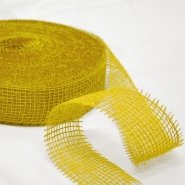 Juta, traka 5cm, 15428, žuta