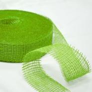 Juta, traka 5cm, 15429, zelena