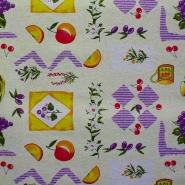 Deko, tisk, sadje, 12181-1