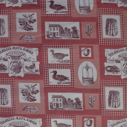 Deko, tisk, krpanka, 12191-2