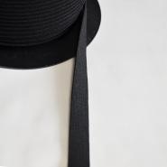 Elastika, 5_15mm, črna, 537