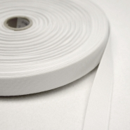 Elastic, 6_20mm, white, 12415