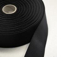 Elastikband, 7_40mm, schwarz, 13044
