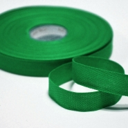 Cotton ribbon, 15mm, 15455-6260, green