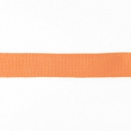 Cotton ribbon, 15mm, 15455-6189, apricot