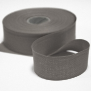 Cotton ribbon, 30mm, 15456-6132, grey