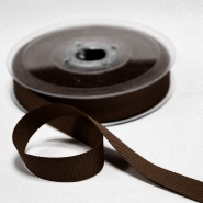 Rep ribbon, 15mm, 15457-573, brown