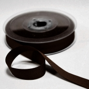 Rep ribbon, 15mm, 15457-1103, brown