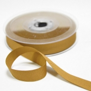 Rep ribbon, 15mm, 15457-535, gold