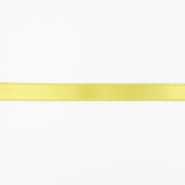 Satin ribbon, 10mm, 15458-1009, yellow - Bema Fabrics