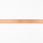 Satin ribbon,  10mm, 15458-1080, apricot
