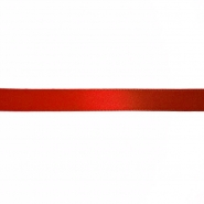 Satin ribbon, 10mm, 15458-1229, red