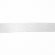 Satin ribbon, 15mm, 15459-1, white - Bema Fabrics