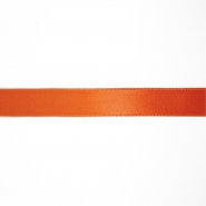 Satin ribbon, 15mm, 15459-1037, orange