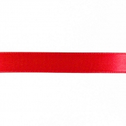 Satin ribbon, 15mm, 15459-1229, red
