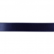 Satin ribbon, 15mm, 15459-1173, dark blue