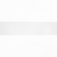 Satin ribbon, 25mm, 15460-1, white