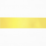 Satin ribbon, 25mm, 15460-1009, yellow