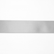 Satin ribbon, 25mm, 15460-1120, silver