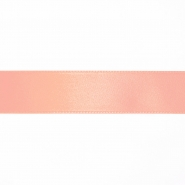 Satin ribbon, 25mm, 15460-1080, apricot