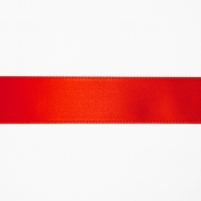 Satin ribbon, 25mm, 15460-1229, red