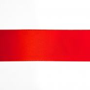 Satin ribbon, 40mm, 15461-1229, red