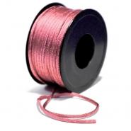 Cord, viscose, 3mm, 15462-3003, pink