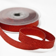 Lame ribbon, 15mm, 15475-3, red