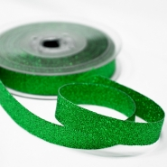 Lame ribbon, 15mm, 15475-4, green