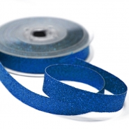 Lame ribbon, 15mm, 15475-5, blue
