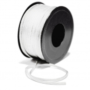 Cord, viscose, 3mm, 15462-1, white