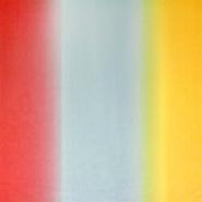 Chiffon, Polyester, Mehrfarbig, 10766, rot blau gelb